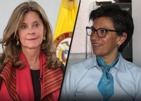 El desacuerdo de la vicepresidenta con Claudia López