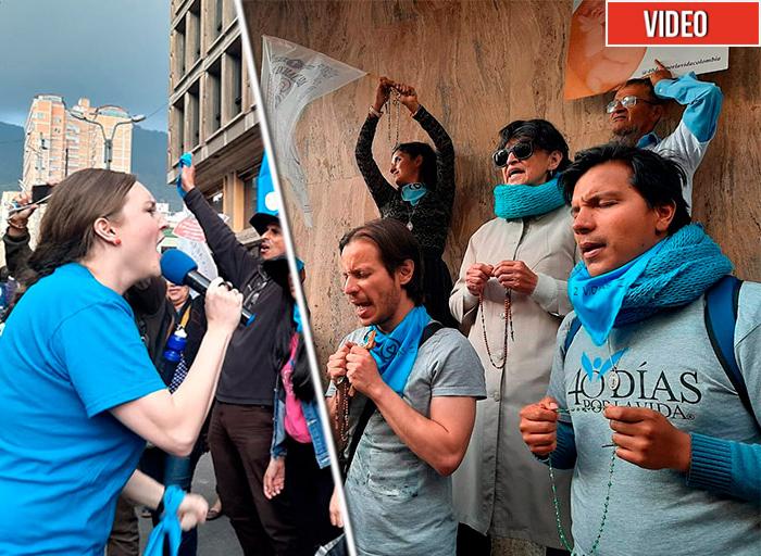 La furia de los activistas pro vida contra el aborto