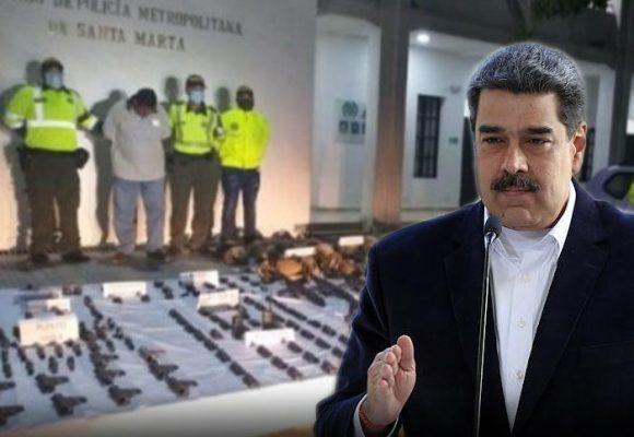 El arsenal que incautaron en Barranquilla sería para derrocar a Maduro