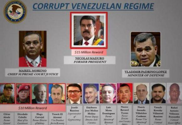 Trump le pone precio a las cabezas de Maduro y Diosdado