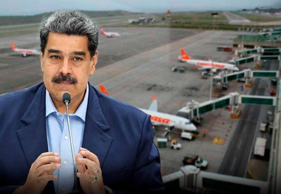 Maduro suspendevuelos de Europa y Colombia