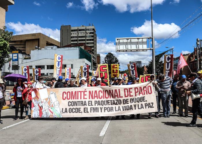 ¡El sindicalismo ha muerto en Colombia!