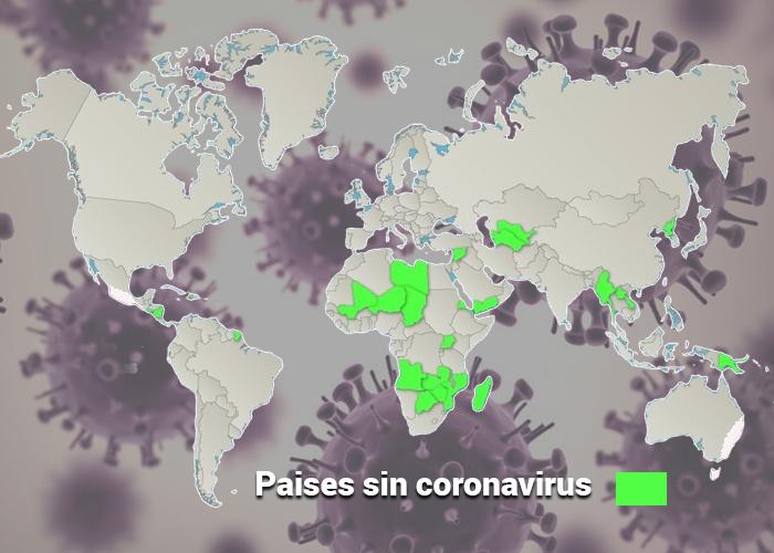 Los 53 países que hasta ahora se han salvado delCoronavirus