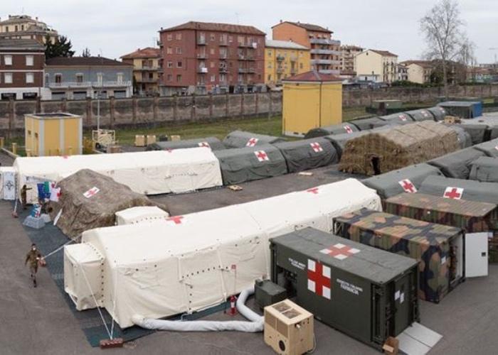 Italia registra una cifra récord con casi 1.000 muertos en un día