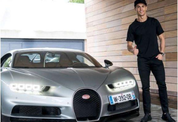 Cristiano Ronaldo compró un carro de USD $10 millones en plena crisis por el coronavirus