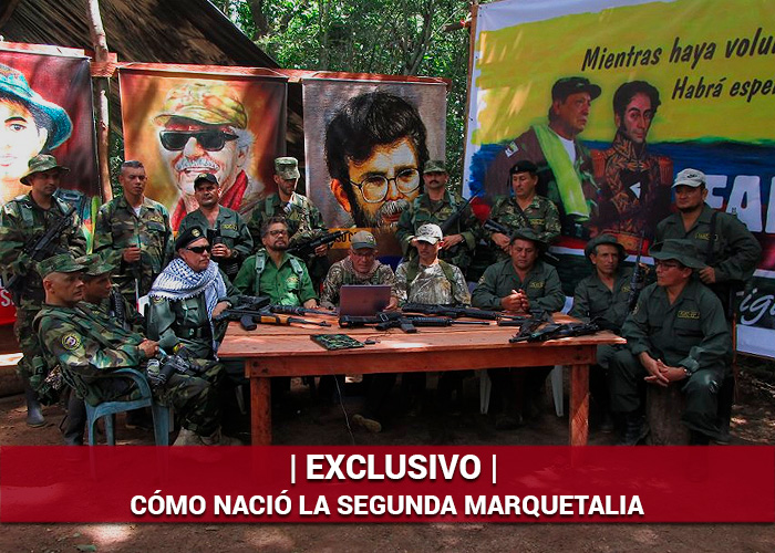 La odisea del grupo de Iván Márquez para lograr reunirse en la frontera venezolana