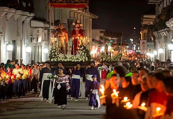 El coronavirus apagó la Semana Santa de Popayán