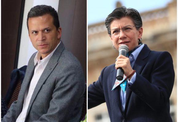Desesperado el alcalde de Soacha le habla duro a Claudia López