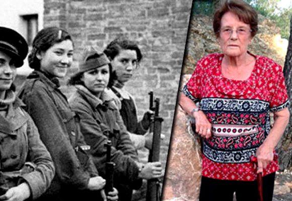 Sole, la única guerrillera antifranquista que sigue viva