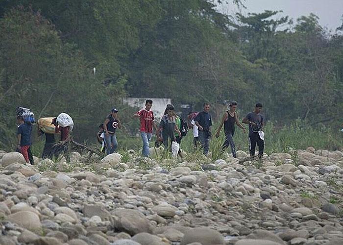 Las trochas entre Venezuela y Colombia, más activas que nunca