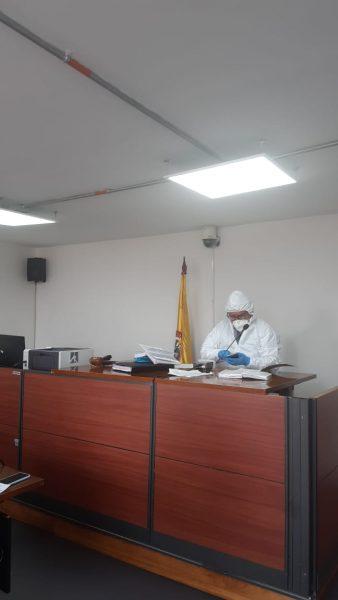 Foto: Prensa Juzgados de Paloquemao