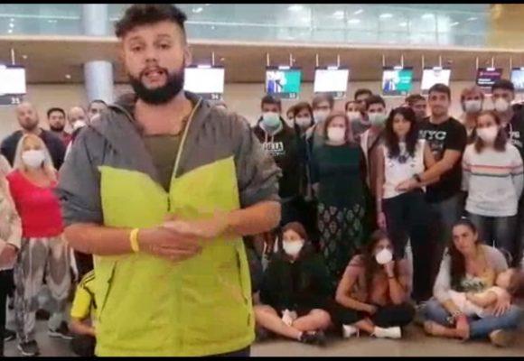110 argentinos varados en El Dorado y su gobierno no dice ni pio. Video