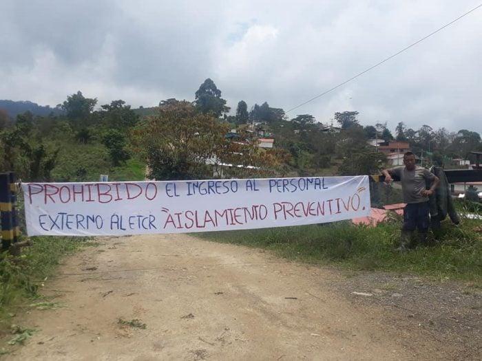 Espacio de Reincorporación en Icononzo, Tolima. Foto: Mario Montiel
