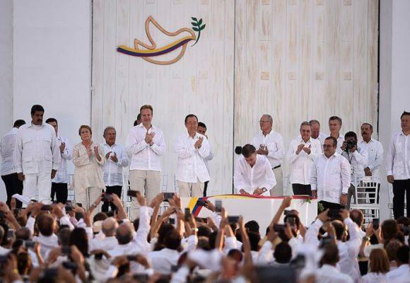 La paz que nunca ha existido en Colombia