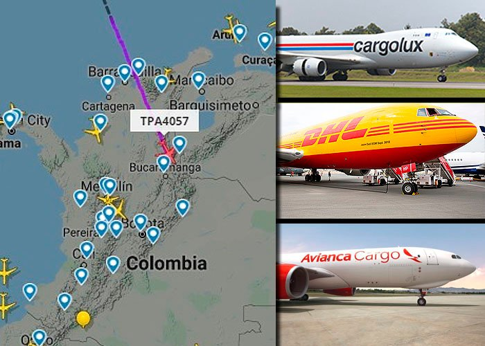 10 aerolíneas mantienen vivo el tráfico de carga en El Dorado
