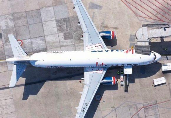 Colombia suspende vuelos internos