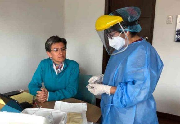 Nada de nervios, Claudia Lopez da negativo en Coronavirus