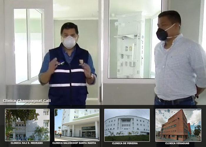 El emporio de Saludcoop listo para atender el coronavirus