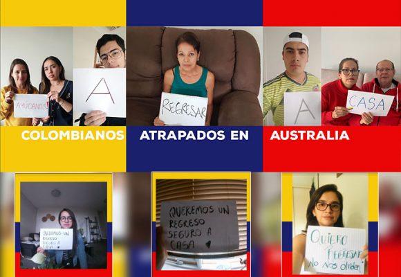 Varados en Australia 200 colombianos