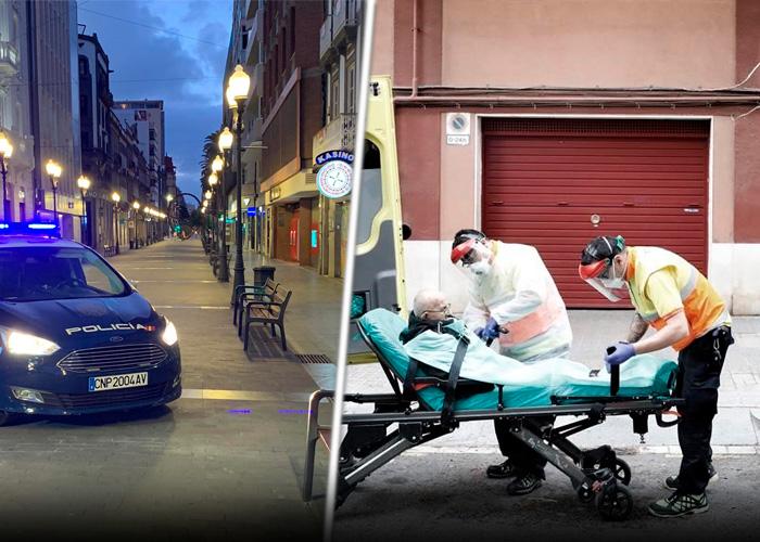 España: impotencia y desesperación por el Coronavirus