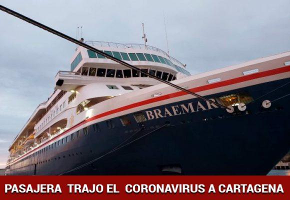 El crucero que trajo el coronavirus a Cartagena