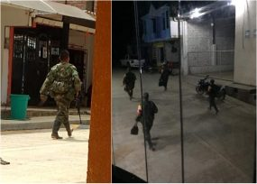 Las disidencias se toman Argelia, Cauca