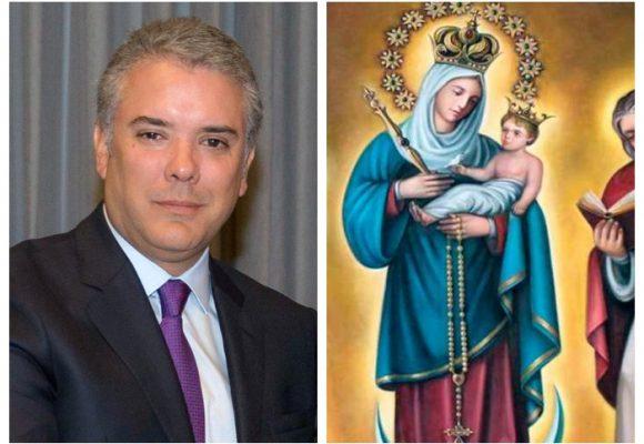 No tenemos presidente, pero tenemos a la Virgen de Chiquinquirá