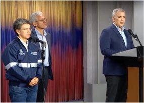 Empalme entre Claudia López y Duque: se extiende la cuarentena