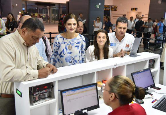 La Asamblea del BID aceleró los arreglos del aeropuerto Cortizzos. Quedó listo