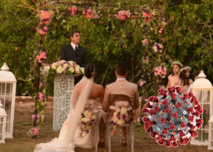 Gran matrimonio de 500 personas en pleno Coronavirus
