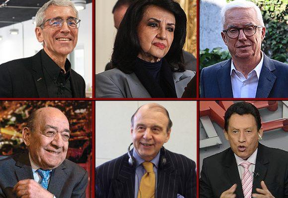 Periodistas y políticos mayores de 70 años aislados en sus casas