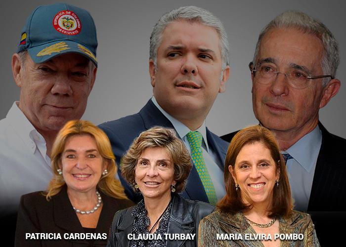 Las tres privilegiadas de la diplomacia colombiana