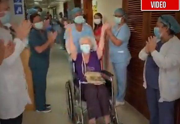 Los médicos de Cartagena logran salvar a la inglesa de 85 años