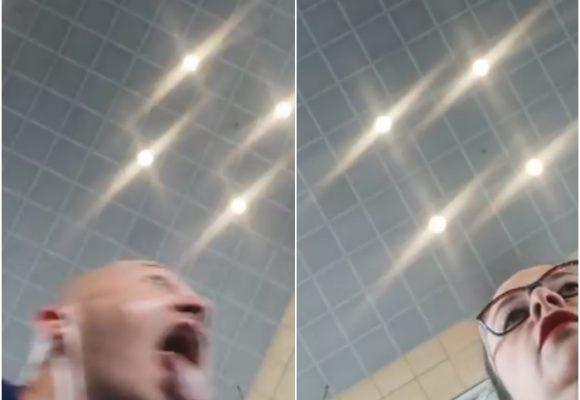 VIDEO: Hombre le tose en la cara a empleada en El Dorado