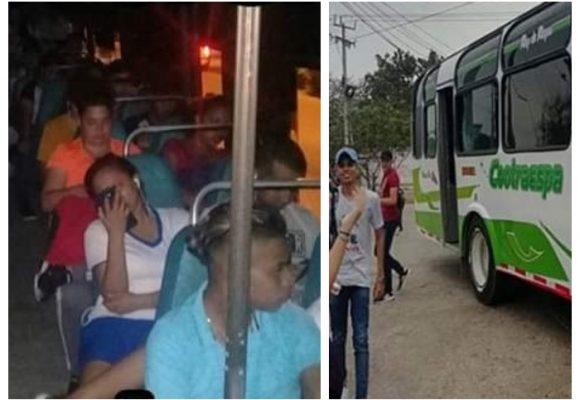 Estudiantes de Malambo se quedaron sin transporte