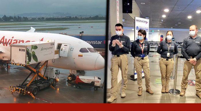 El último vuelo de Avianca internacional antes de Coronavirus