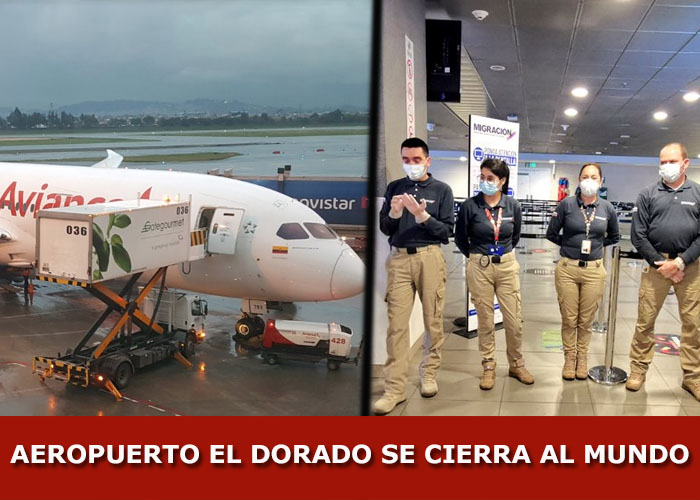 Avianca 121: el último vuelo que aterrizó en El Dorado por el Coronavirus