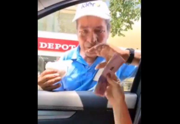 VIDEO: Le compraron cocada en 300mil para ayudarlo