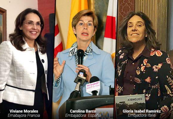 Embajadores colombianos enfrentados al COVID-19
