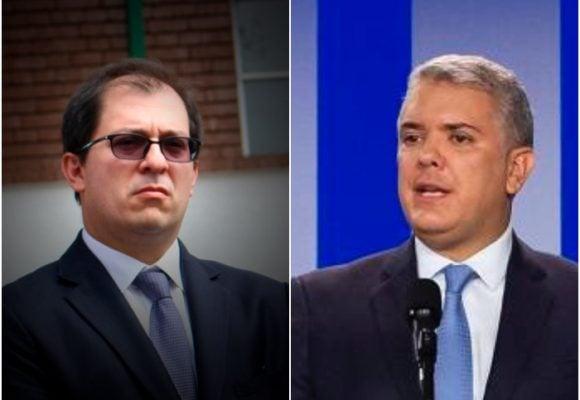 Primer choque entre entre el fiscal y el gobierno Duque