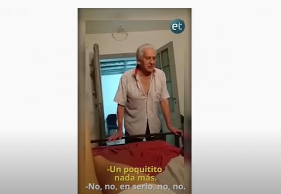 El amarillismo del vídeo de anciano