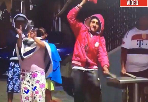 ¡Señora alcadesa, ya hay hambre en cinco barrios de Bogotá! Video