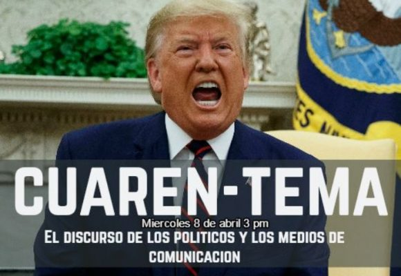 Diálogos sin tapabocas: el discurso de los políticos y los medios de comunicación