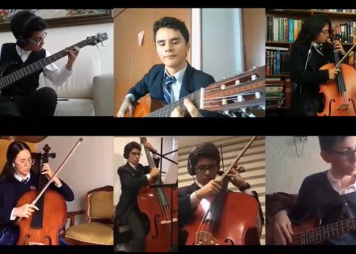 VIDEO: Desde el confinamiento, un llamado de la música a la esperanza