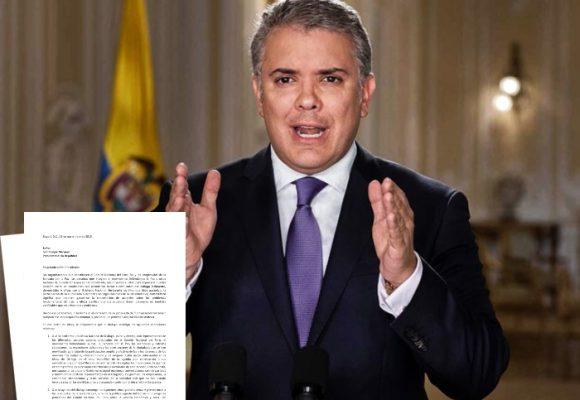 Carta abierta de 133 organizaciones sociales al presidente Iván Duque