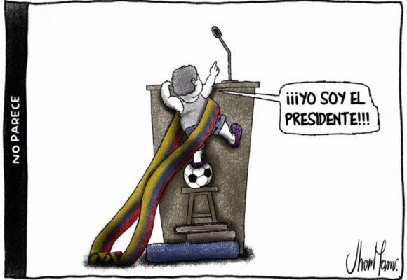 """""""La caricatura aterriza al político cuando este cree ser intocable"""""""