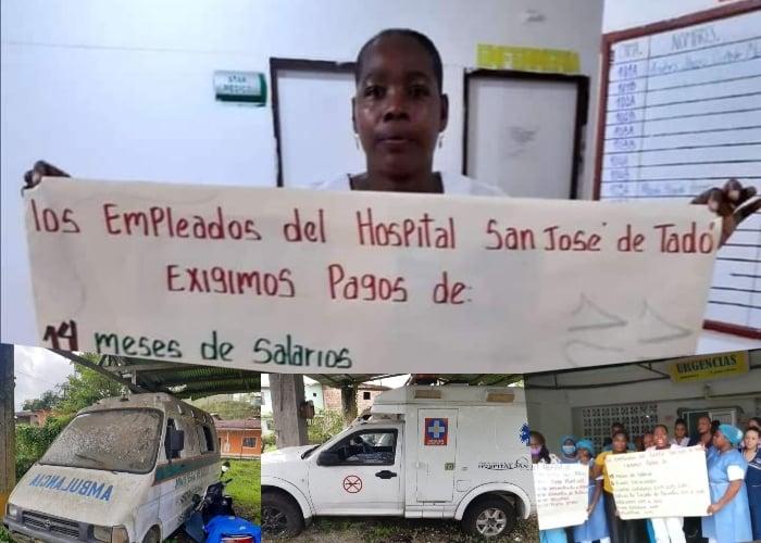 La tragedia que vive el único hospital de Tadó, Chocó en plena pandemia