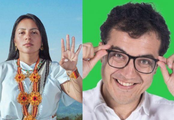 La antipatía del Partido Verde con Ati Quigua, la concejala indígena de Bogotá