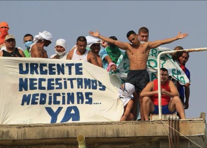 ¡A los presos en Colombia también hay que protegerlos!