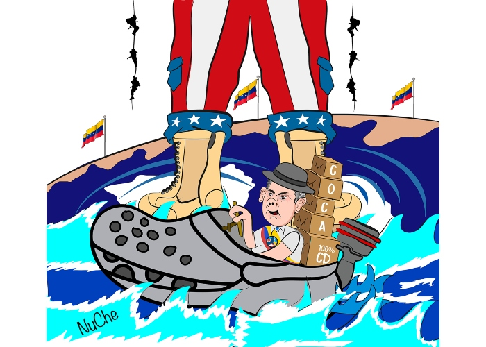 Caricatura: La fracasada guerra contra las drogas